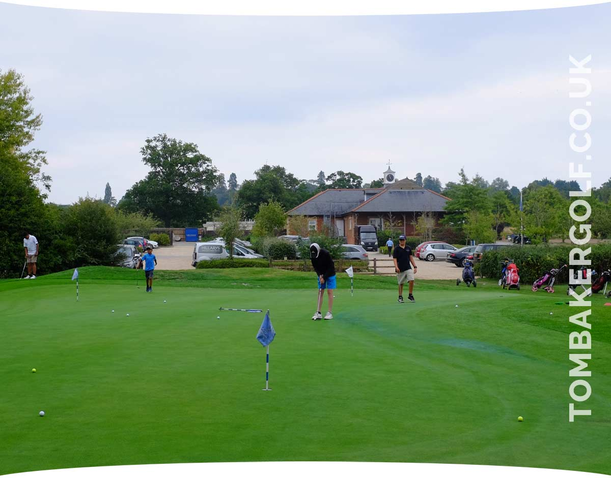 Junior golf coaching and lessons in Buckinghamshire